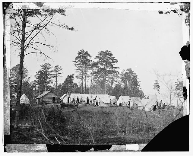 [Brandy Station, Va. Chief Engineer's camp at Army of the Potomac headquarters]