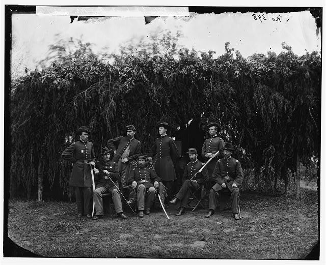 [Washington, District of Columbia (vicinity)]. Officers of 3d U.S. Infantry