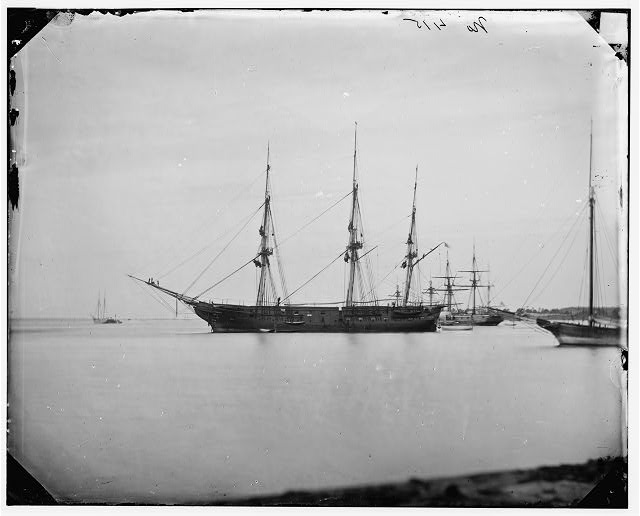 [Hampton Roads, Va.  School ship U.S.S. Sabine]