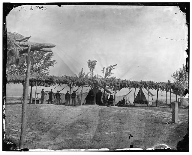 [City Point, Va. Tents of the general hospital]