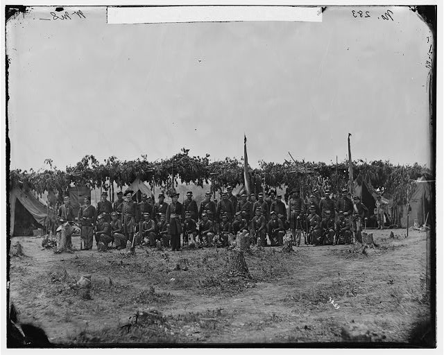 District of Columbia. Company F, 2d Regiment New York Artillery at Fort C.F. Smith