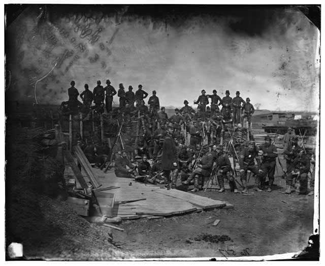 [Manassas, Va. Men of Co. C, 41st New York Infantry]