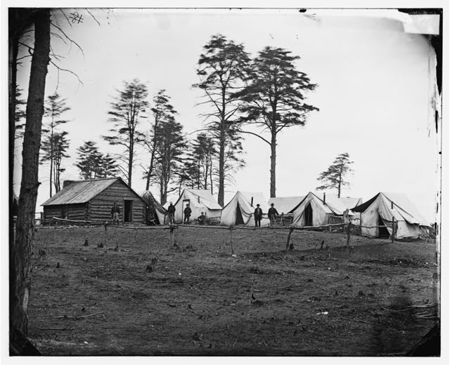 [Brandy Station, Va. Chief Engineer's camp; another view]