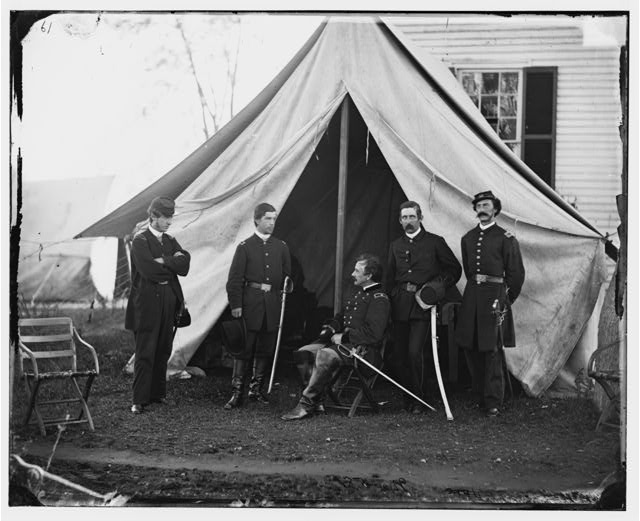 [Culpeper, Va. Gen. Andrew A. Humphreys and staff]