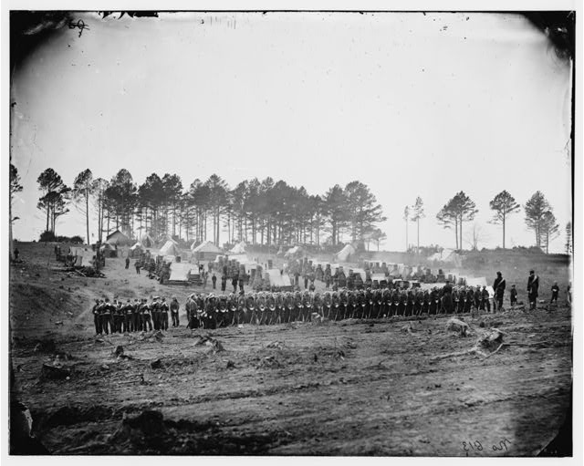 [Brandy Station, Va. Guard mount of 114th Pennsylvania Infantry (1st Division, 3d Corps)]