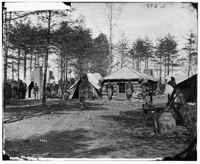 [Brandy Station, Va. Headquarters of 1st Brigade, Horse Artillery]