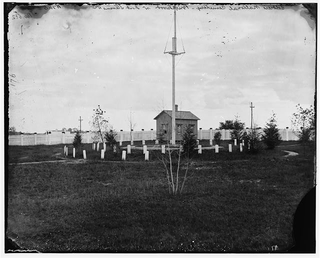 District of Columbia. Soldiers' cemetery near Fort Stevens (Brightwood)
