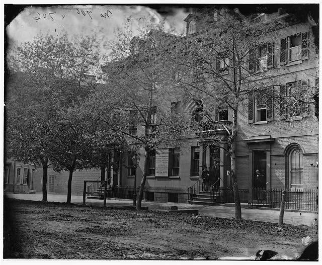 [Washington, D.C. Central office of the Sanitary Commission, 1333 F Street, N.W.]