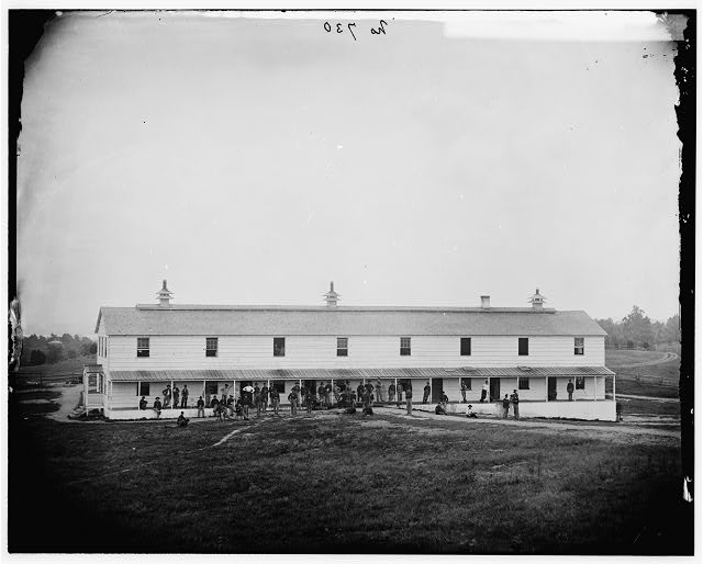 Washington, District of Columbia. Signal Corps camp near Georgetown