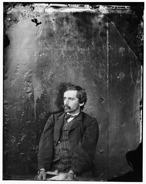 [Washington Navy Yard, D.C. Michael O'Laughlin, a conspirator, manacled]