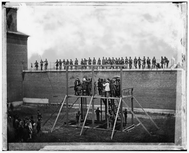 [Washington, D.C. Adjusting the ropes for hanging the conspirators]