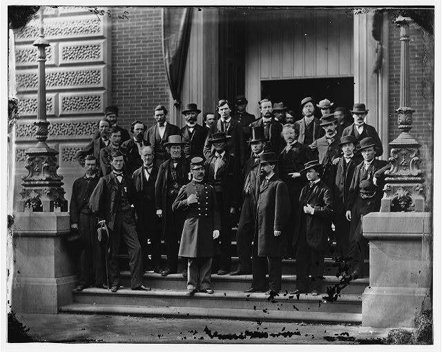 Group at Quartermaster General's office, Washington, D.C.