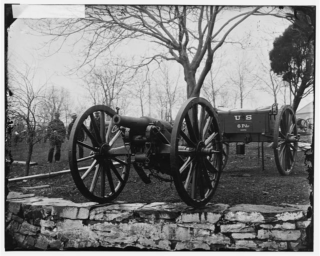 [Washington, D.C. Wiard 6-pdr. gun at the Arsenal]