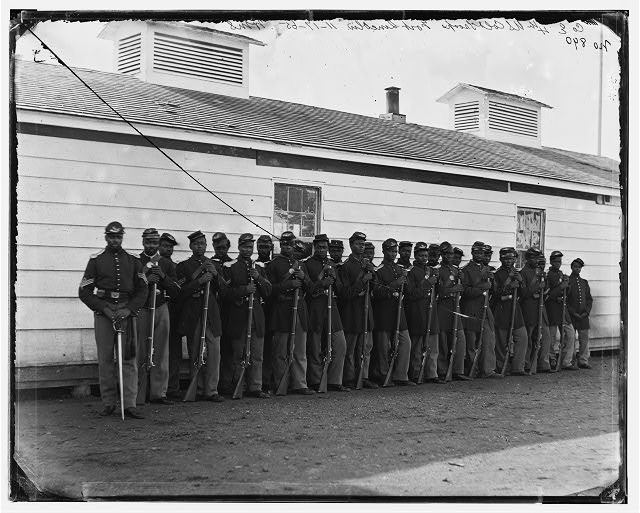 [District of Columbia. Company E, 4th U.S. Colored Infantry, at Fort Lincoln]