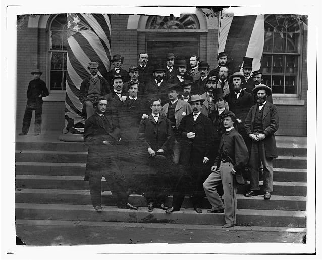 Washington, District of Columbia. Group at War Department