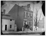 Washington, District of Columbia. Captain Chas. H. Tompkin's (A.Q.M.) office. Group in doorway(1865)