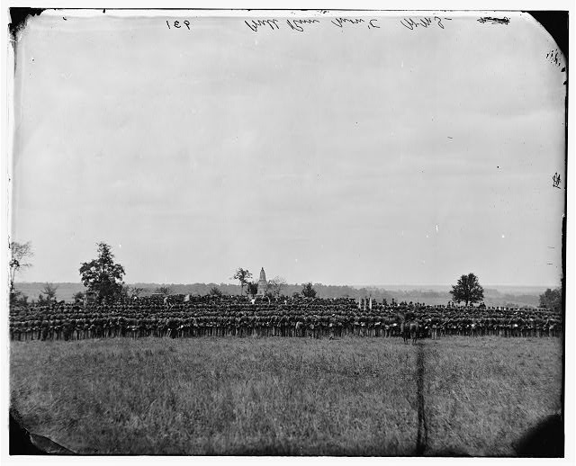 [Bull Run, Va. Dedication of the battle monument]
