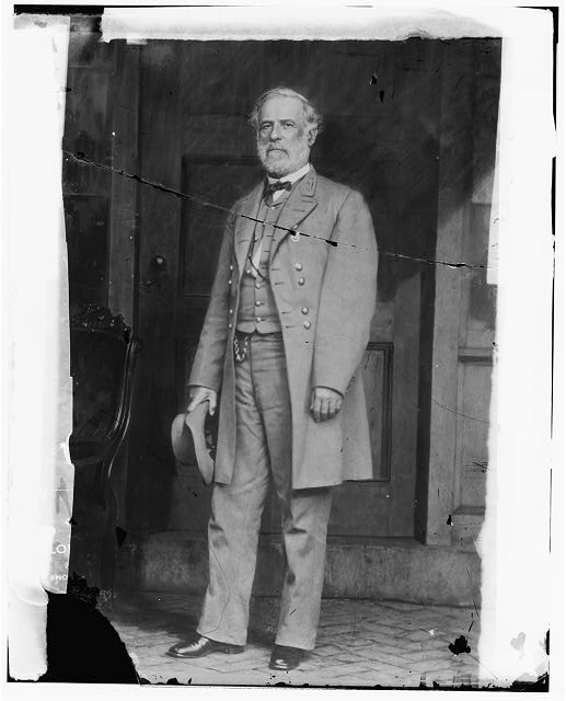 Robert E. Lee. April 1865