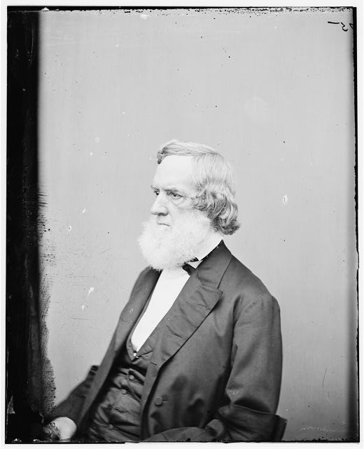 [Portrait of Secretary of the Navy Gideon Welles, officer of the United States government]