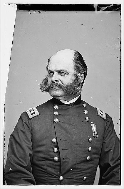 [Portrait of Maj. Gen. Ambrose E. Burnside, officer of the Federal Army]