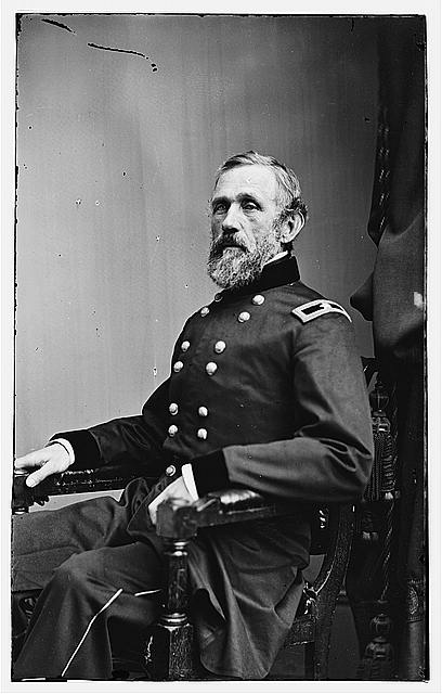 [Portrait of Brig. Gen. John G. Barnard, officer of the Federal Army]