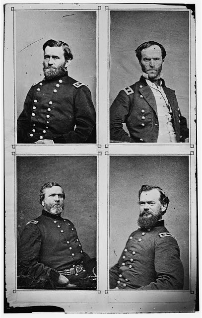 [Grant, Sherman, Thomas, and McPherson]