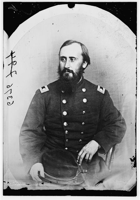 Gen. J.F. Hall, Col. 1st N.Y. Engineers