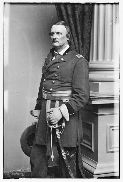 Brig. Gen. Israel B. Richardson, killed Antietam
