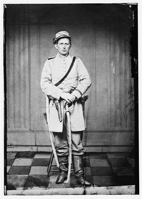 Capt. James S. West, C.S.A. (Cavalry)