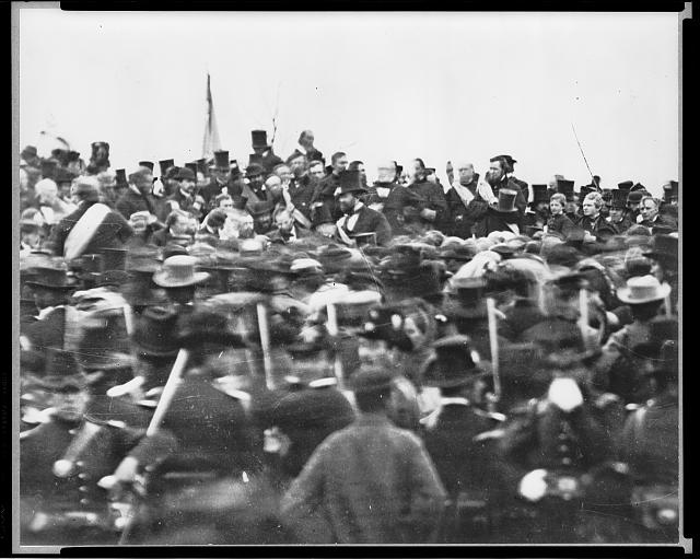 photo from the gettysburg address