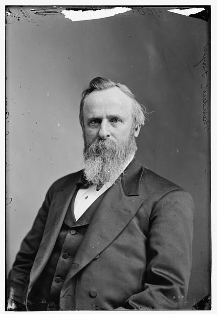 Pres. Rutherford B Hayes