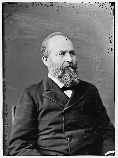 Garfield, Pres. James