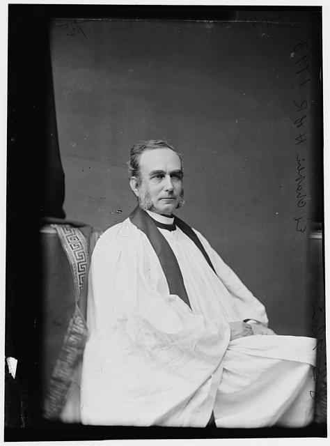 Townsend, Rev. E.D., Chaplain of H. of R.