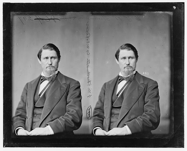 Throckmorton, Hon. James Webb of Texas (Member of Secession Convention fo Texas 1861) Capt. and Major - Confederate Army Born in Tennessee Feb. 1, 1825