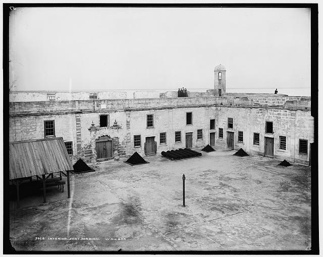 Interior, Fort Marion