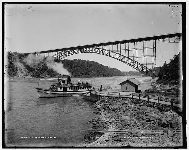 [Upper] Steel Arch Bridge, Niagara