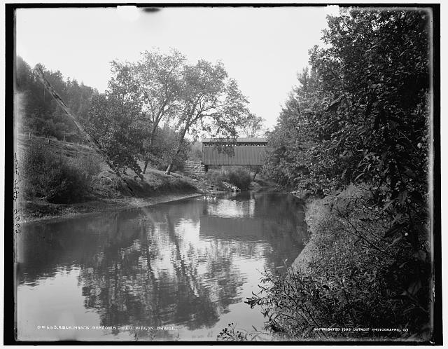 Able Man's Narrows, old wagon bridge