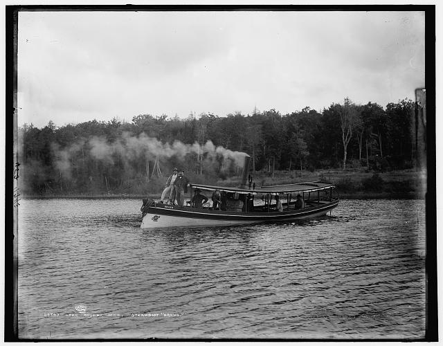 "Lake Gogebic, Mich., steamboat ""Brand"""