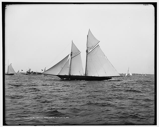The Volunteer, Goelet Cup Race, August 7, 1891