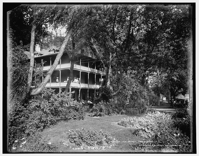 [Cliff House, Devil's Lake, Wis.]