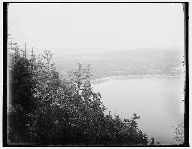 [Devil's Lake from Observatory Hill, Wisconsin]