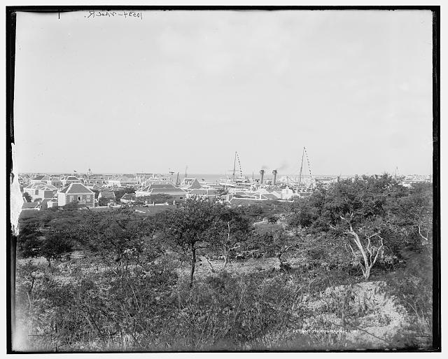 Curacao, W.I., from the hills