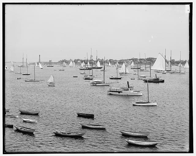 [Marblehead Harbor, Mass.]