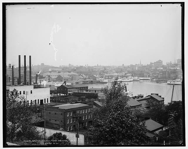 Baltimore, Md., from Federal Hall [i.e. Hill]
