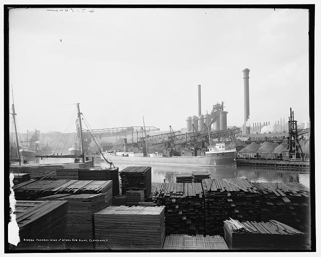 Federal Wire and Steel Co.'s plant, Cleveland, O[hio]