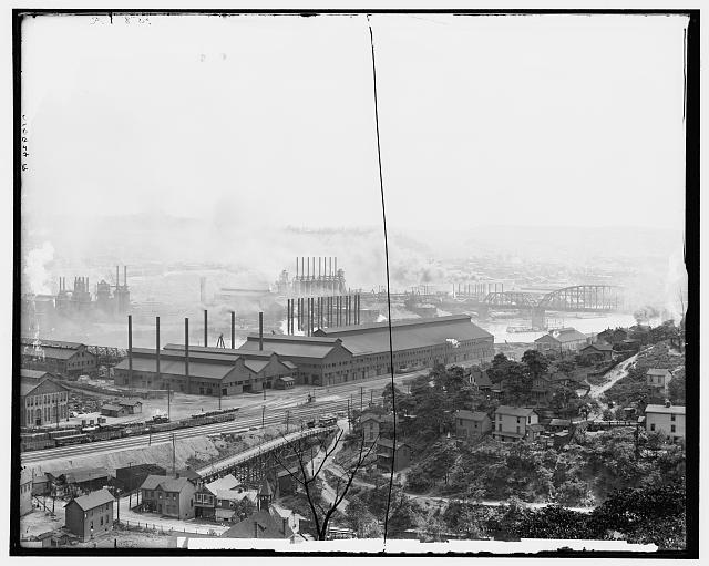 Carnegie Steel Plant, Homestead, Pa.