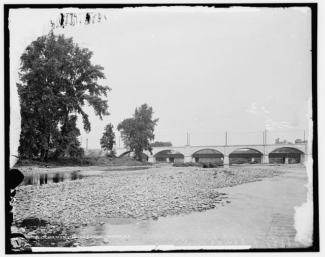 U. & M. V. Railway bridge, Herkimer, N.Y.