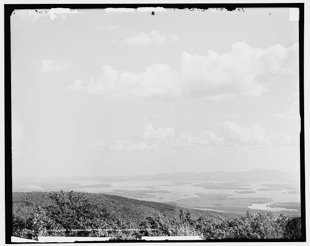 Lake Winnipesaukee from Red Hill, Lake Winnipesaukee, N.H.