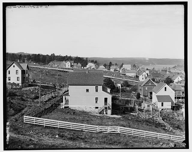 [Quincy Hill and Hancock, Mich.]