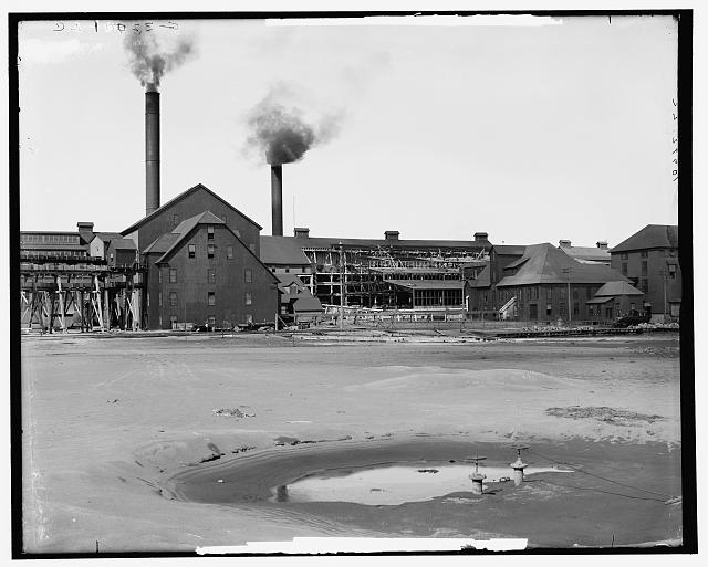 Calumet and Hecla stamp mills, Lake Linden, Mich.
